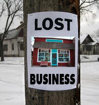Lost Business - Marketing Helps Find Your Business